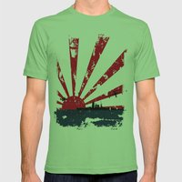Imperial Japanese Navy Mens Fitted Tee Grass SMALL