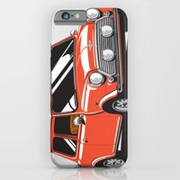 Mini Cooper Car - Red iPhone 6 Slim Case