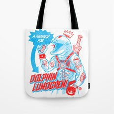 A Juicebox for Dolphin Lundgren Tote Bag