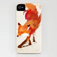 Vulpes Vulpes iPhone (4, 4s) Slim Case