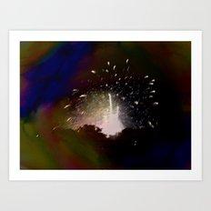 volcanic eye Art Print
