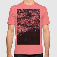 Zacatecas Mens Fitted Tee Pomegranate SMALL