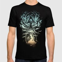 War Of The Worlds I. Mens Fitted Tee Black SMALL