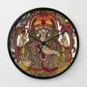 Lord Ganesha Wall Clock
