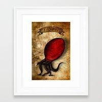 Squidomato Framed Art Print
