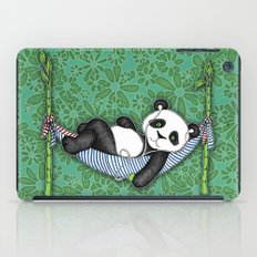 iPod Panda - The Lazy Days iPad Case