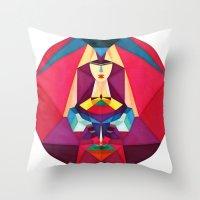 Libelula Throw Pillow
