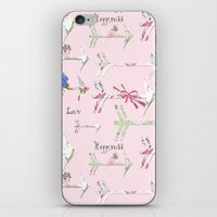 Happiness Is A Bouquet O… iPhone & iPod Skin
