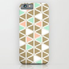 Colored Triangles Slim Case iPhone 6s
