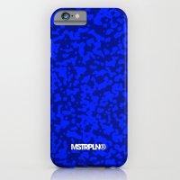 Comp  Camouflage / Blue iPhone 6 Slim Case