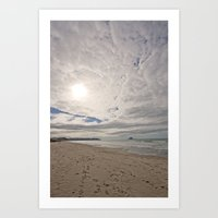 Ohope Sky Art Print