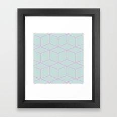cube! Framed Art Print