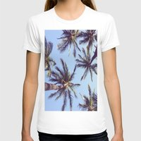 palm trees T-shirts featuring Palm trees by Brenda Alvarez