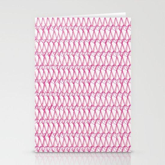 Pink pattern Stationery Card