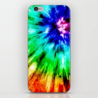 Tie Dye Meets Watercolor iPhone & iPod Skin