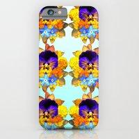 Royal Pansy iPhone 6 Slim Case
