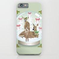 Snow Globe Deer iPhone 6 Slim Case