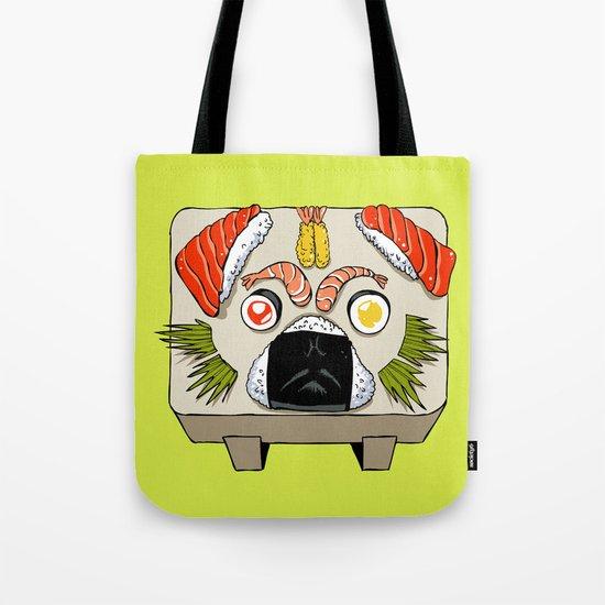 Pug Sushi  Tote Bag