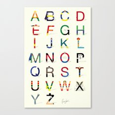 ABC SH (Option 2) Canvas Print