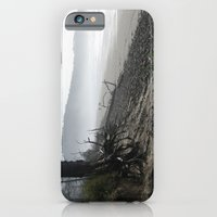 iPhone & iPod Case featuring Misty Morning Walk by grandmat