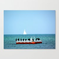 Conquered Canvas Print