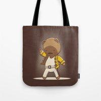 Teddy Mercury Tote Bag
