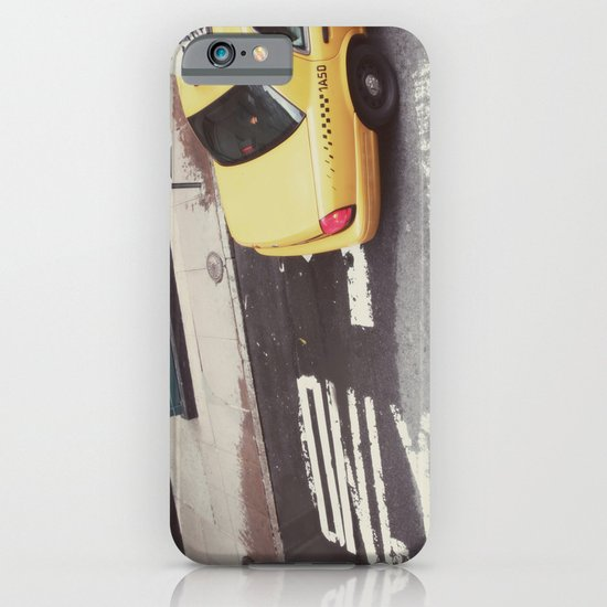 one way taxi:: nyc iPhone & iPod Case
