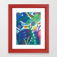 Secret garden III Framed Art Print