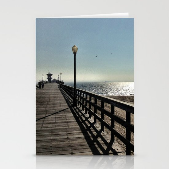 Pier. Stationery Card