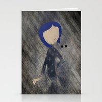 Coraline Minimalist Stationery Cards