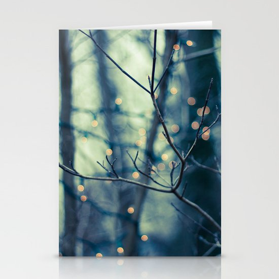 Woodland Holiday  Stationery Card
