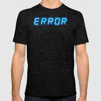 ERRORTRUTH Mens Fitted Tee Tri-Black SMALL