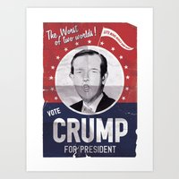 CRUMP ! Art Print