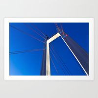 Tjörnbron Bridge Art Print