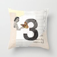 3 - Butterfly March Throw Pillow