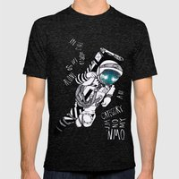 SLR Mens Fitted Tee Tri-Black SMALL