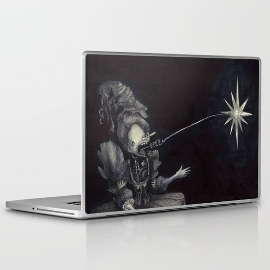 Ghost Light Laptop & iPad Skin