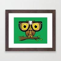 The Little Wise One Framed Art Print