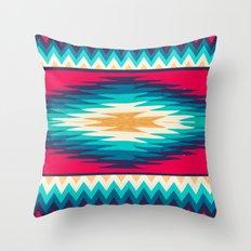 SURF GIRL CHEVRON Throw Pillow