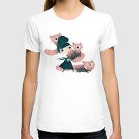 panda T-shirts featuring panda by yohan sacre