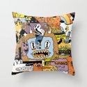 The Escape Plan Throw Pillow