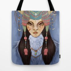 Mongolian Princess Tote Bag
