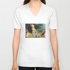 Trying To Change Nature, Never Works The Way You Want It To Unisex V-Neck