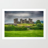 Caerphilly Castle East View 2 Art Print