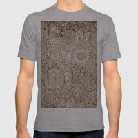 Sunny Cases IX Mens Fitted Tee Athletic Grey SMALL