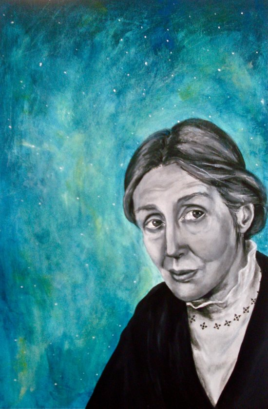 A Room of One's Own {Woolf} Art Print