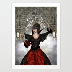 Beautiful Witch Art Print