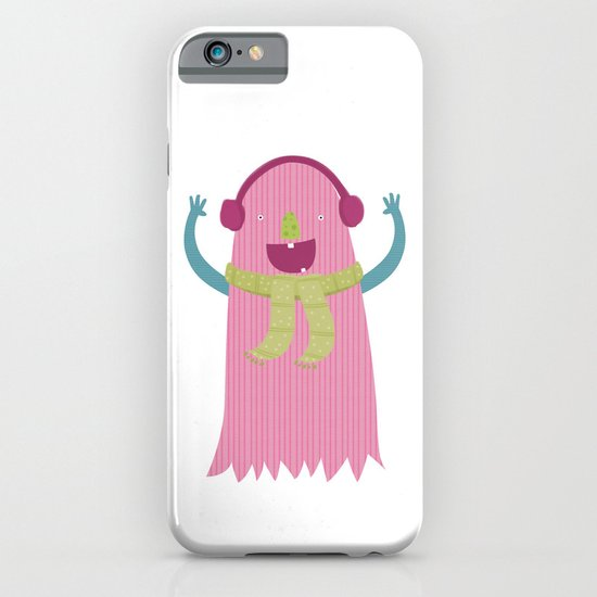 PINK MONSTER iPhone & iPod Case