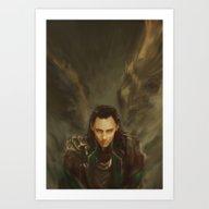 Descension Art Print