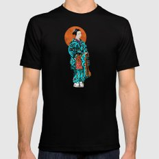 Geisha Mens Fitted Tee Black SMALL